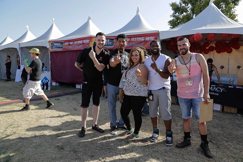 AHF HIV Testing at Long Beach Pride 2014