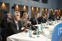 Carlos Almada Lopez at the Closed Ministerial Session