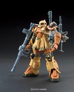 HG 1/144 MS-05 Zaku I (Thunder Bolt 雷霆宙域戰線版)