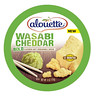 Alouette Wasabi Cheddar Soft Spreadable Cheese (FoodBev Photos) Tags: food green cheese spread alouette dairy wasabi cheddar bold flavoured alouettewasabicheddarsoftspreadablecheese