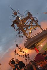 Smoke @ Turmbhne // Fusion Festival (Merlijn Hoek) Tags: party festival deutschland toren sunday techno fusion fest turm flugplatz sonntag zondag tak takken mecklenburg fusionfestival lrz merlijn mecklenburgvorpommern 2014 zaterdag larz technoparty technomusic turmbhne rechlin merlijnhoek fusionauten fusionfestival2014