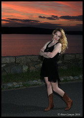 Courtney - June 16, 2014 (Peter Camyre) Tags: girls friends light sunset summer portrait sky water girl beautiful smile fashion june lady female night canon pose ma fun happy model flickr pretty dress photoshoot legs image boots modeling outdoor dusk dam massachusetts tag courtney picture posing tags images reservoir peter vogue blonde pete 16 mass quabbin poses glamor murphy ware winsor fasion belchertown 2014 speedlite ef2470 posig camyre
