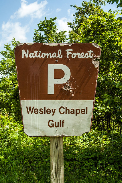 Hoosier National Forest - Wesley Chapel Gulf - June 17, 2014