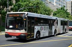 SMRT Buses Mercedes-Benz O405G Hispano Carrocera Mk2 (nighteye) Tags: bus singapore mercedesbenz mk2 hispanocarrocera silkpro o405g smrtbuses service180 tib993s