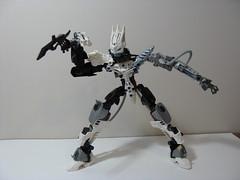Kalek Remake V3 02 (ExclusivelyPlastic) Tags: ice robot factory lego hero bionicle toa mech