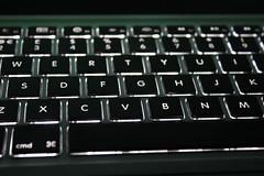 Stock (Miss Emma Gibbs) Tags: keyboard laptop lit light backgrounds