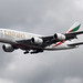 A6-EEJ Airbus A380 Emirates