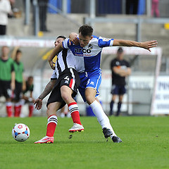 """Bristol Rovers v Grimsby Town 090814 • <a style=""""font-size:0.8em;"""" href=""""http://www.flickr.com/photos/125622569@N04/14696934609/"""" target=""""_blank"""">View on Flickr</a>"""