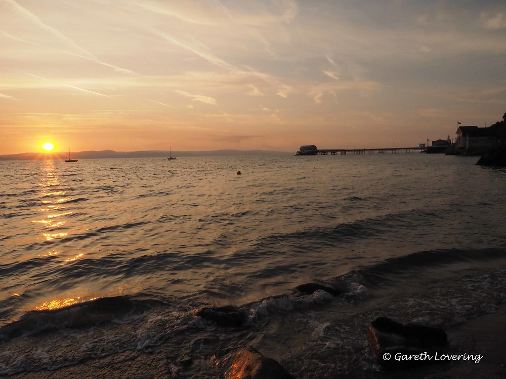 Sunrise over Swansea Bay 26th July 2014 (2)
