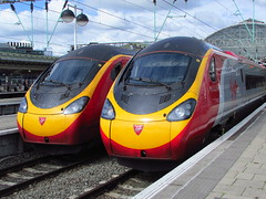 Virgin Trains , Class 390 Pendolino,s (Gary Chatterton 3 million Views Thank You All) Tags: station manchester flickr rail railway trains exploreinterestingness railways manchesterpiccadilly virgintrains pendolino exploreinteresting class390 virgingroup tiltingtrains class390pendolino