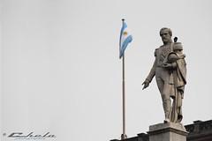 La Valle (@cheloutdoor) Tags: plaza argentina canon eos rebel arquitectura buenosaires monumento ciudad bandera 75300mm tamron historia t2i
