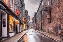 Rue Garneau / Vieux-Québec (Tony Webster) Tags: sunset canada quebec afterthestorm rainstorm quebeccity vieuxquébec oldquebec oldquebeccity ruegarneau ccbync20150103 cgp1522b