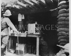 WWI2363GP (ww1images) Tags: food cane paper table soldier