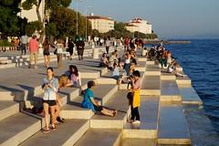 Zadar - orgue maritime 2 (luco*) Tags: marin croatia maritime zadar basic croatie hrvatska dalmatia nikola orgue dalmatie
