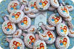 Matrioskas (Casinha de Pano) Tags: japanese handmade felt fabric feltro maternidade tecido bordado matrioskas lembrancinhas importado