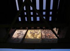 King (Amber is the Color of My Ener) (jpmatth) Tags: old trestle bridge color digital sunrise canon eos graffiti lenstagged illinois king hometown mk2 5d elmstreet taylorville 2014 tokinaatxpro17mm35 amberisthecolorofmyener