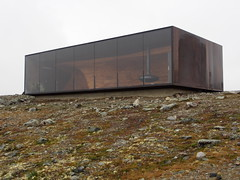 Snøhetta pavillion made by The world famous Snøhetta architect office!