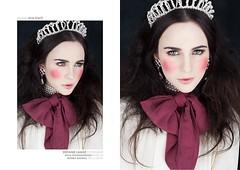 Princess (stefanie-lange) Tags: portrait berlin studio krone eyes princess lips crown lovely stefanie puppe lange schleife prinzessin