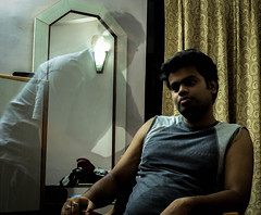Ghost Photography. (iKChakraborty) Tags: canon lens long exposure slow ghost kitlens shutter kit trick