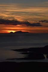 Foula (DSC_0884[1]) (AngusInShetland) Tags: sunset scotland twilight shetland foula simmerdim