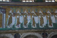 Basilica of Sant Apollinare Nuovo-Ravenna-Saints-Virgins (GlennCantor (theskepticaloptimist)) Tags: italy art church basilica mosaics unescoworldheritage ravenna santapollinarenuovo basilicaofsantapollinarenuovo