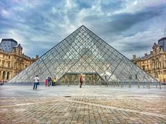 Pyramid. (PG_Pix) Tags: paris france art museum triangle gallery pyramid louvre monalisa croft flickrandroidapp:filter=none