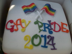 "Cake Donated to support Plymouth Pride 2014 • <a style=""font-size:0.8em;"" href=""https://www.flickr.com/photos/66700933@N06/14896431293/"" target=""_blank"">View on Flickr</a>"