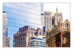 New reflects old (sdc_foto) Tags: newyork reflection buildings oldandnew 2014 pentaxk30