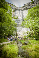 Malham Cove (Mariusz Talarek) Tags: uk england nature walking landscape outdoors countryside nikon outdoor hiking yorkshire dslr northyorkshire pennines rambling malham naturephotography naturelover malhamdale landscapephotography outdoorphoto d90 naturephoto naturephotographer outdoorphotography onahike outdoorphotographer nikond90 landscapephotographer landscapephoto mtphotography addicted2walking