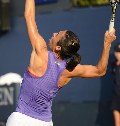 2014 US Open (Tennis) - Tournament - Francesca Schiavone