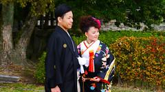 Hiroshima City, Japan (Mic V.) Tags: city wedding japan japanese groom bride traditional hiroshima clothes kimono bridal prefecture japon