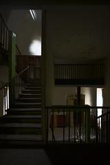 Géométrie bordélique (Blec.) Tags: urban decay exploration escalier abandonned urbex urbaine oublié abandonné désaffecté