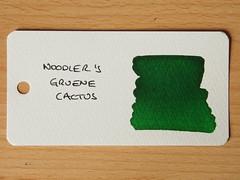 Noodler's Grune Cactus - Word Card
