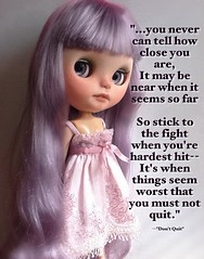 """Lyra's Happy Weekend Gift: """"Don't Quit"""""""