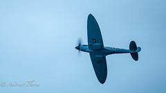 Roll Royce Spitfire (Thorne Photography) Tags: bournemouth royce redarrows typhoon blackcats royalnavymerlin bournemouthairfestival nightaerobatics obriensflyingcircus solotwistersandreddevils spitfirerolls