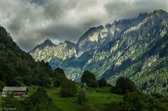 Bregaglia/Bergell seen from Soglio, GR (Tschissl) Tags: schweiz urlaub berge landschaft graubnden bregaglia