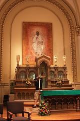 Saint Francis de Sales Seminary - Saint Francis, WI (Kayakman) Tags: icons catholic cross altar milwaukee seminary wi mke canon40d opendoorsmilwaukee