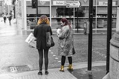 Escenas callejeras. Semáforo (Jurobra) Tags: streets scotland glasgow escocia rue calles
