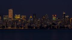 Vancouver Night Skyline