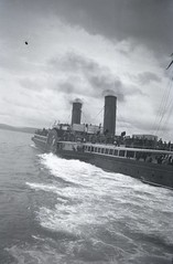 Steamer Leaving Tarbert (Angela Towndrow) Tags: