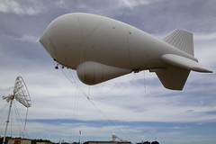 Cudjoe Keys Florida Tethered Aerostat Radar System (TARS) (CBP Photography) Tags: florida tars cbp oam cudjoekey tetheredaerostatradarsystem