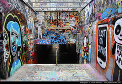 Graffiti Tunnel, University of Sydney, Australia (JH_1982) Tags: new art wales painting graffiti university south paintings sydney australia pedestrian tunnel nsw australien australie        sdney