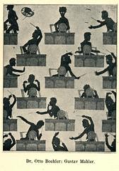 Muziek en Musici in caricatuur pm 1920   ill   Gustav Mahler-Otto Bochler
