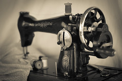 Vintage sewing-machine