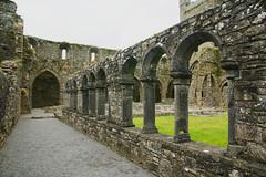 Cloister Arcade (Stefan Jrgensen) Tags: county kilkenny ireland abbey sony jerpointabbey 2014 countykilkenny jerpoint a700 dslra700