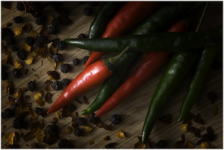 Macro Mondays – Handle With Care - Ceyenne Chilli Peppers