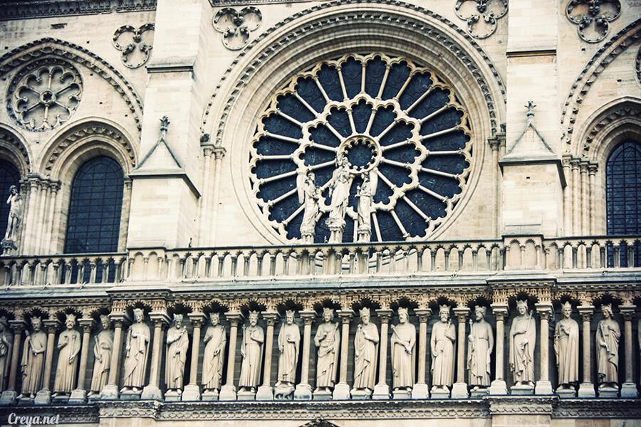 2016.10.02 ▐ 看我的歐行腿▐ 法國巴黎一日雙聖,在聖心堂與聖母院看見巴黎人的兩樣情 17