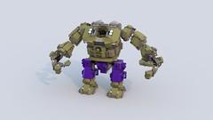 Hulk Gamma Suit by Freddy Tan (minimal_aya) Tags: freddy tan lego hulk gamma suit