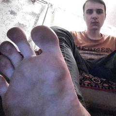Lick my sexy teen toes,faggy. (masterdanhot) Tags: male feet teen boy smelly stinky socks toes master