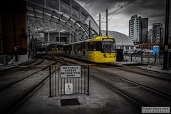 ManchesterVictoria2016.10.09-1 (Robert Mann MA Photography) Tags: manchester manchestervictoria manchestercitycentre greatermanchester england victoria victoriastation manchestervictoriastation manchestervictoriarailstation victoriarailstation city cities citycentre architecture summer 2016 sunday 9thoctober2016 manchestermetrolink metrolink trams tram nightscape nightscapes night light lighttrails